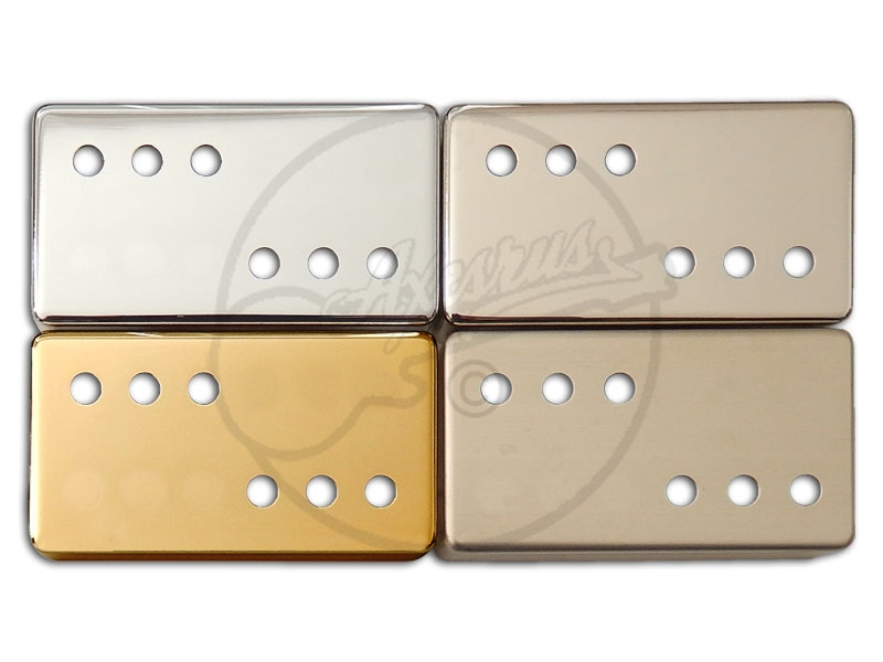 3x3 Nickel Silver Humbucker Covers