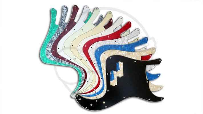 Bass Guitar Pickguards and control plates