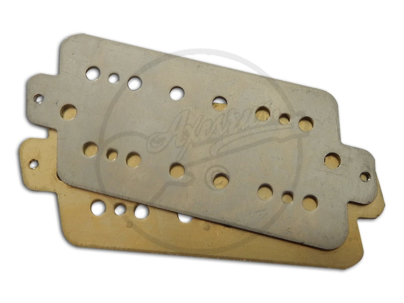 Gibson Nighthawk Base Plates in Brass and Nickel