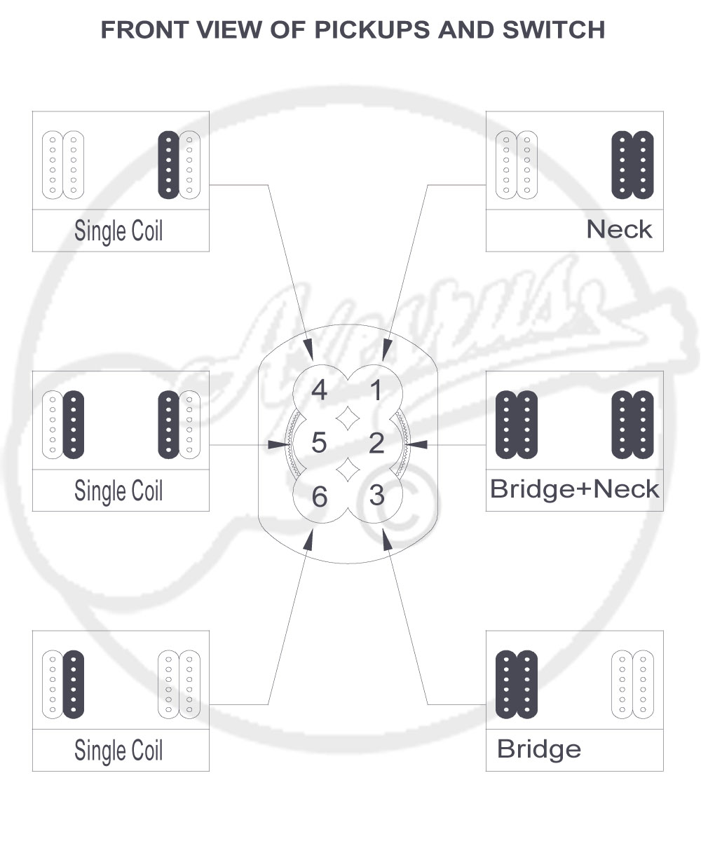 6 Way Switch Wiring Diagram Guitar Will Be A Thing 4 2 Humbuckers Nsf Freeway Position Rh Axesrus Co Uk 5