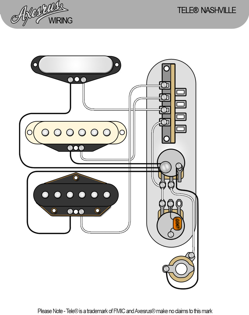 Telecaster Nashville Wiring Diagram - Collection