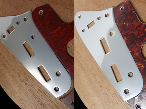 Main Control Plate Fitted to Fender Jaguar